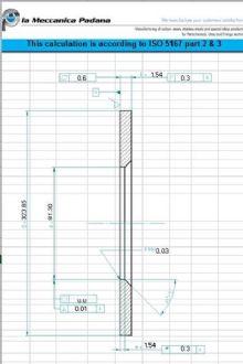 ISO 5167 orifice plates calculations