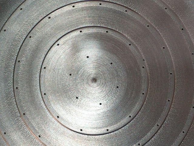 Special orifice plate lmp