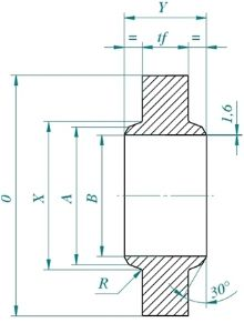Anchor Flanges Datasheet